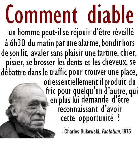 citation de charles bukowski inform 39 action. Black Bedroom Furniture Sets. Home Design Ideas