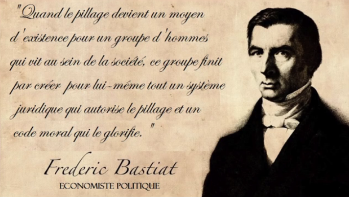 Citaten Frederic Bastet : Citation de frédéric bastiat inform action