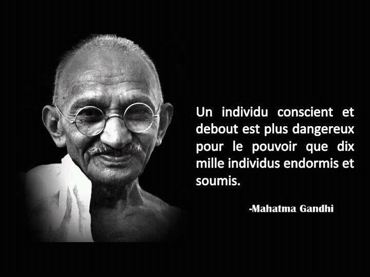 Populaire Citation de Gandhi | Inform'Action RC12