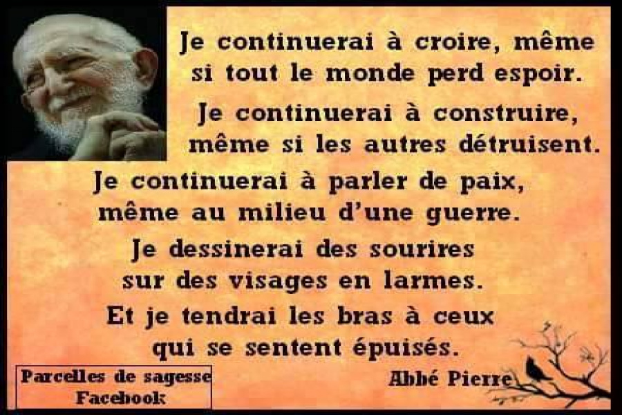 Citation De L Abbé Pierre 4 Inform Action