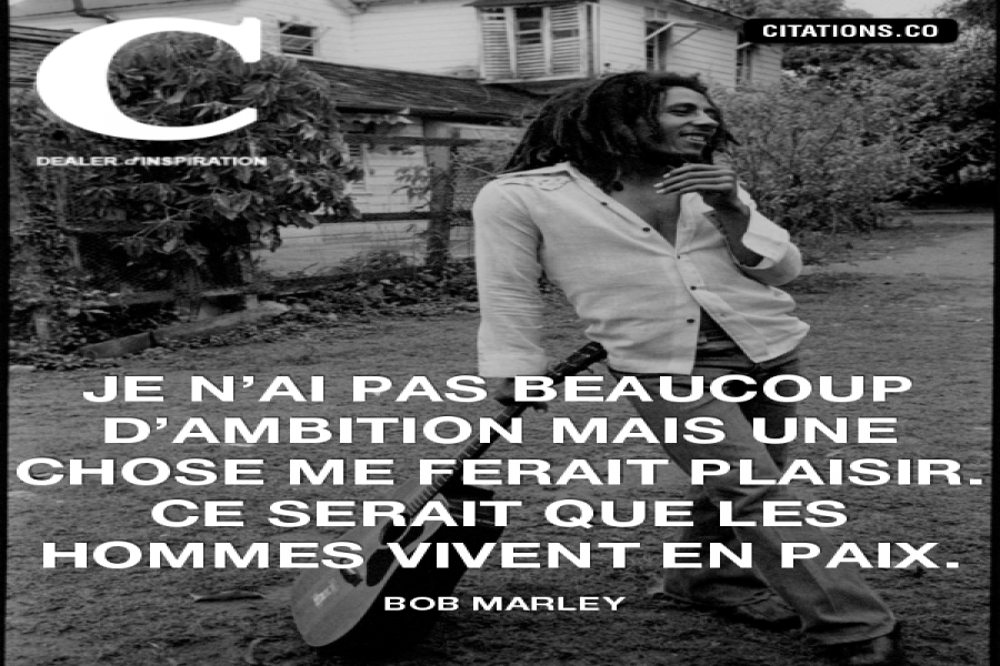 Citation De Bob Marley Inform Action