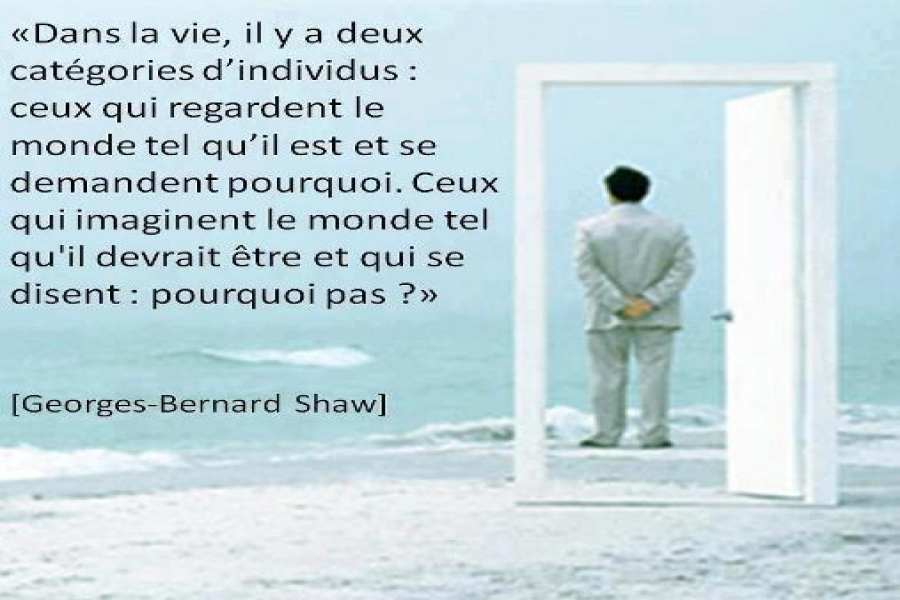 Citation De Georges Bernard Shaw Inform Action